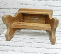 Slab Sided Country Pine Stool (5 of 5)