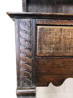 Antique 18th Century Welsh Oak Pot Board Dresser (3 of 26)
