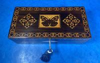William IV Rosewood Glove Box with Superb Stickware & Tunbridge Ware Inlay (3 of 12)