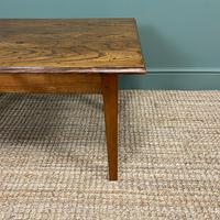 19th Century Elm and Cherry Antique Coffee Table (5 of 5)