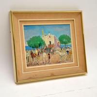 Vintage Italian Oil Painting by Mario Cortiello (2 of 6)