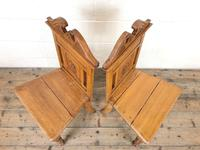 Antique Pair of Carved Oak Chairs (2 of 6)