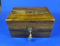Victorian Olive Wood Jewellery Box (4 of 10)
