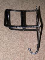 Antique Solid Cast Iron Set of 3 Harness Racks Inc Saddle, Bridle & Collar Hooks (4 of 15)