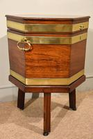 George III Octagonal Wine Cooler on Stand (4 of 6)