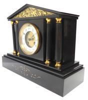 Amazing French Slate 8 Day Striking Mantle Clock (7 of 12)