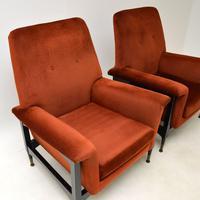 Pair of Italian Vintage Armchairs (4 of 10)