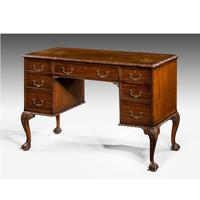 Early 20th Century Chippendale Design Mahogany Writing Table (2 of 8)
