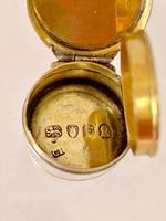 Georgian Sterling Silver Vinaigrette - London 1801 (4 of 9)