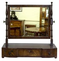 Regency Period Mahogany Dressing Table Mirror (3 of 7)