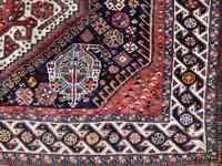 Antique Qashqai Rug 1.47m x 1.04m (3 of 17)