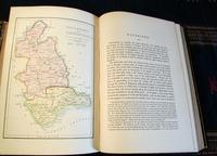 1850 Ireland,  Its Scenery & Character by Mr & Mrs Hall, Complete in 3 Fine Leather Volumes (8 of 9)