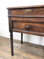 Early 19th Century Oak Box on Stand (11 of 12)
