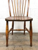 Pair of Antique Hoop Back Farmhouse Chairs (10 of 13)