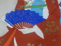 Late Meiji , early Taisho Period Japanese Painting of a Bijin- Signed (4 of 5)