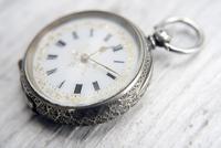 Antique Swiss Silver Women's Pocket Watch, Fancy Case, Fully Hallmarked c.1900 (6 of 10)