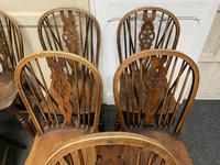 Harlequin Set of 8 18th Century Windsor Dining Chairs (4 of 15)