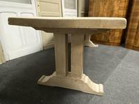Large Bleached Oak French Farmhouse Dining Table (6 of 23)