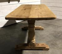 French Bleached Oak Farmhouse Dining Table (5 of 10)