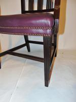 Scottish Georgian Mahogany Elbow Chair (4 of 6)