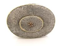 Very Rare 18th Century Indian Filigree Silver Padan Box Karimnagar c.1760 (7 of 11)