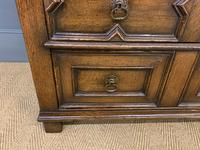 Oak Jacobean Style Chest of Drawers (11 of 13)