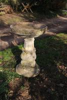 Composition Stone Bird Bath (2 of 4)