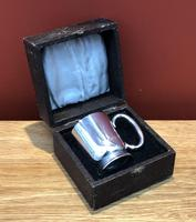 Solid Silver Christening Mug in Fitted Case - Sheffield 1936 (2 of 10)