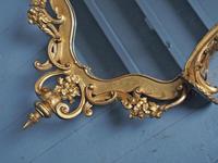Victorian French Giltwood Girandole Mirror (4 of 10)