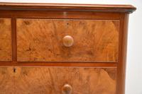 Antique Victorian Burr Walnut  Chest of Drawers (6 of 11)