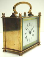 Fine Antique French 8-day Rectangle Carriage Clock Mantel Timepiece c.1890 (4 of 10)