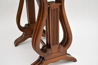 Antique Regency Style Yew Wood Nest of Tables (5 of 8)