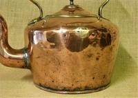 Large Antique Farmhouse Copper Kettle (3 of 5)