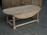 Bleached Oak Drop Flap Coffee Table (4 of 17)
