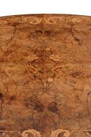 Victorian Burr Walnut Marquetry Oval Loo Breakfast Table Tilt Top (4 of 11)