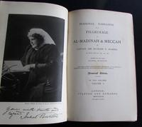 1893 Personal Narrative of a Pilgrimage to  Al-madinah  & Meccah by Captain Sir Richard F. Burton (2 of 7)