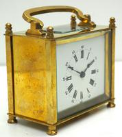 Interesting Antique French 8-day Carriage Clock Rectangle Design (3 of 9)