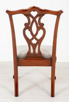 Set of 8 Mahogany Chippendale Style Dining Chairs (16 of 17)
