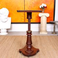 Portable Adjustable Writing Desk 19th Century Mahogany (8 of 12)