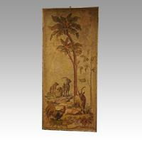Pair of Large Antique Painted Wall Panels (2 of 10)