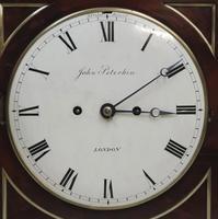 William IV Mahogany Bracket Clock by John Peterkin (6 of 7)