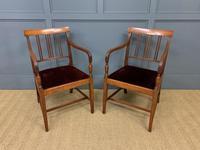 Set of 8 Georgian Mahogany Dining Chairs (12 of 16)