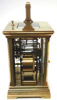 Superb Large Antique French 8-day Striking Carriage Repeat Feature Clock c.1880 (8 of 13)