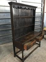 Beautiful 18th Century Oak Dresser (4 of 6)
