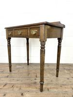 19th Century Antique Oak Side Table (6 of 10)