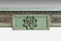 Well Carved 19th Century Pine and Gesso Fire Surround (7 of 9)