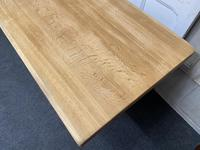 French Trestle End Refectory Farmhouse Dining Table (5 of 17)