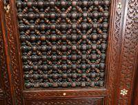 Syrian Inlay Cabinet Bookcase Damascan Islamic Interiors c.1880 (6 of 14)