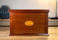 Edwardian Mahogany Stationery Cabinet c.1910 (3 of 13)