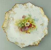 Good Royal Doulton Burslem Hand Painted Dessert Set 19th Century (7 of 12)